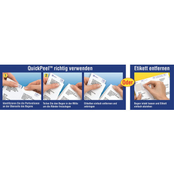 Avery® QuickPEEL™ White Address Labels - Gresswell