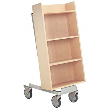 4057-02646 Compact Trolley, Wooden Trolleys, Book Trolleys and Returns