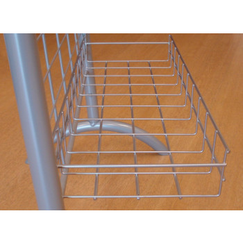 4006-69015 Mesh Display Stand and Accessories, Slatwall, Media Display