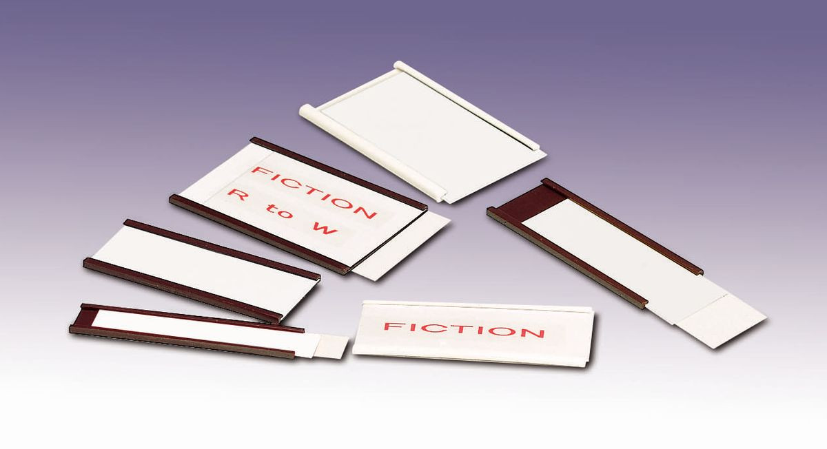 Magnetic And Self Adhesive Label Holders Gresswell