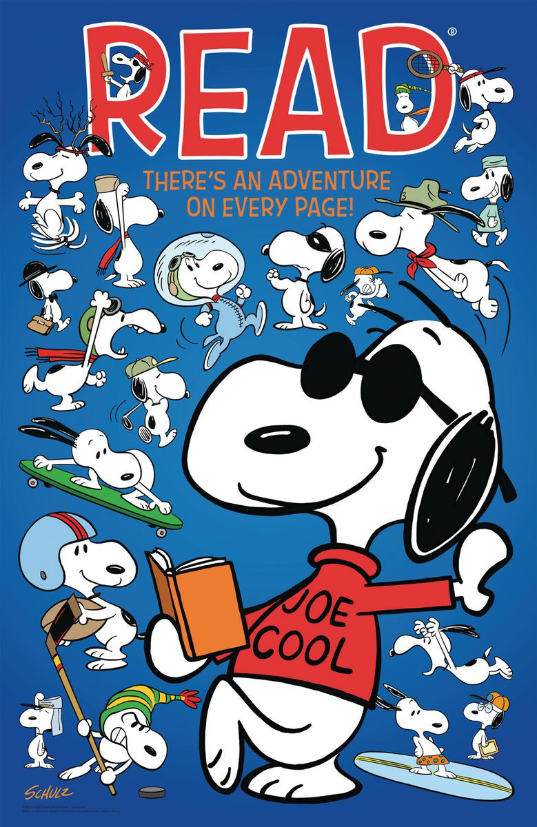Snoopy Reading Promotions