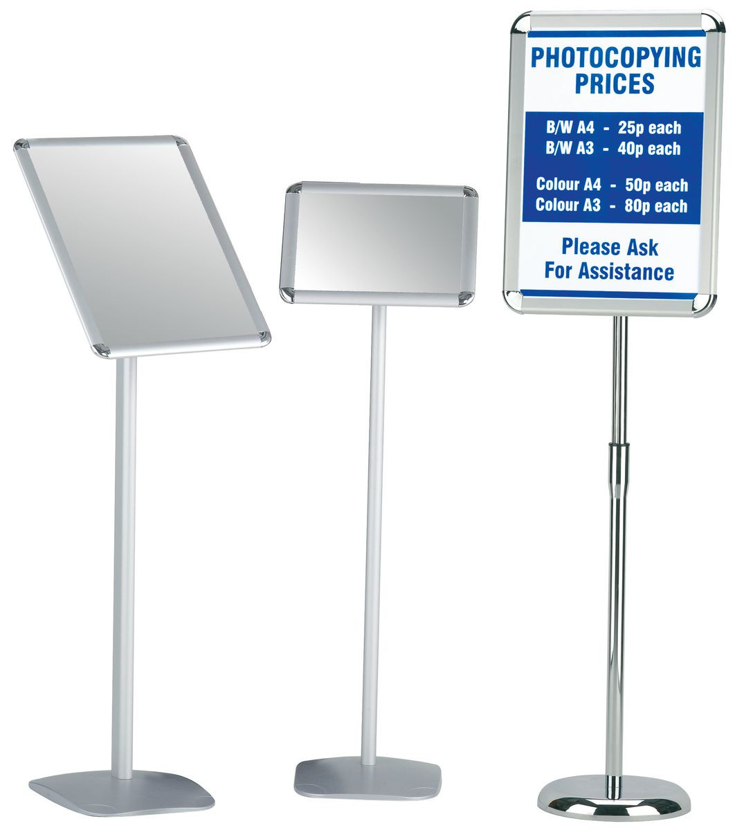 Poster Frames Floor-standing - Gresswell Specialist Resources for ...