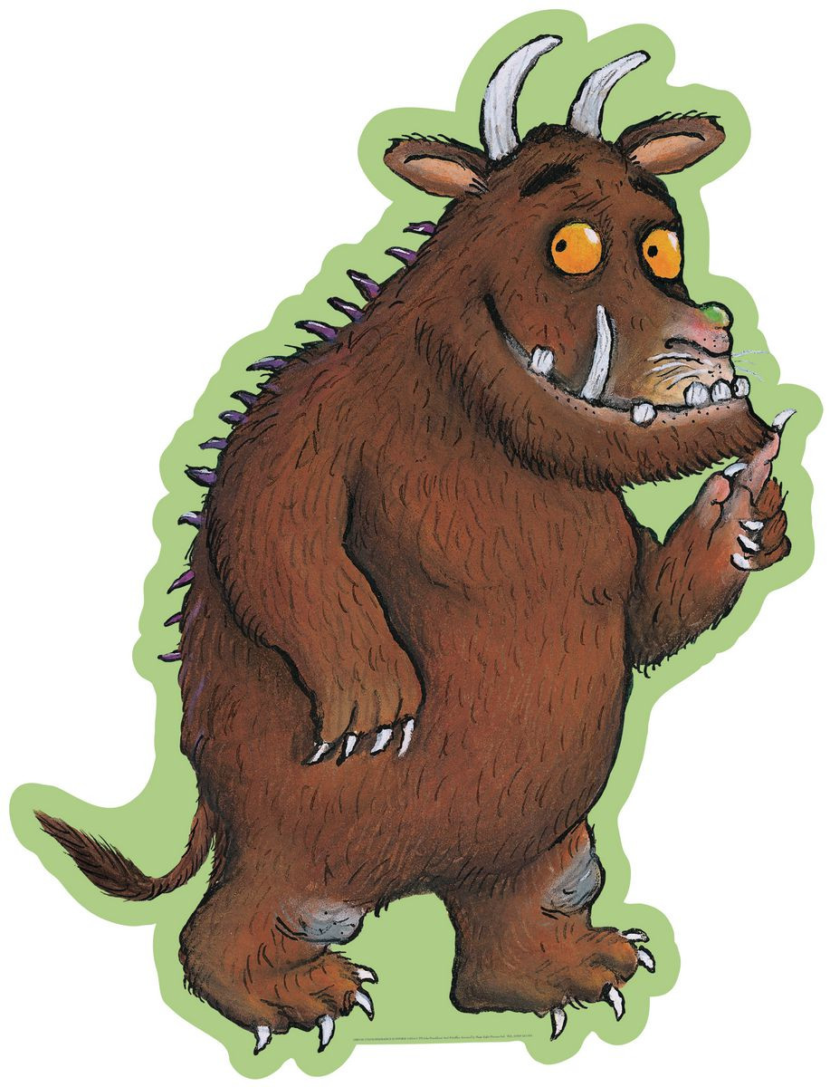 Gruffalo cut out characters for Küche grifflos