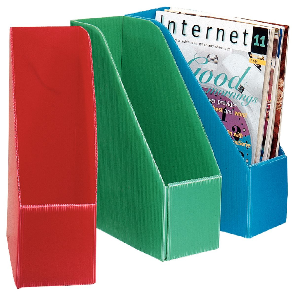 Delicieux Corrugated Plastic Magazine Files