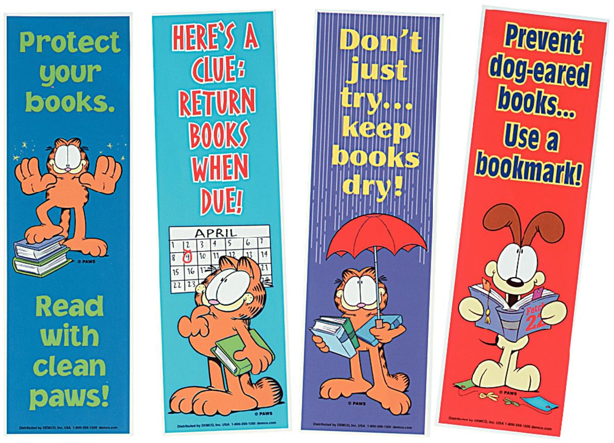 Garfield Library Poster Gresswell Specialist Resources