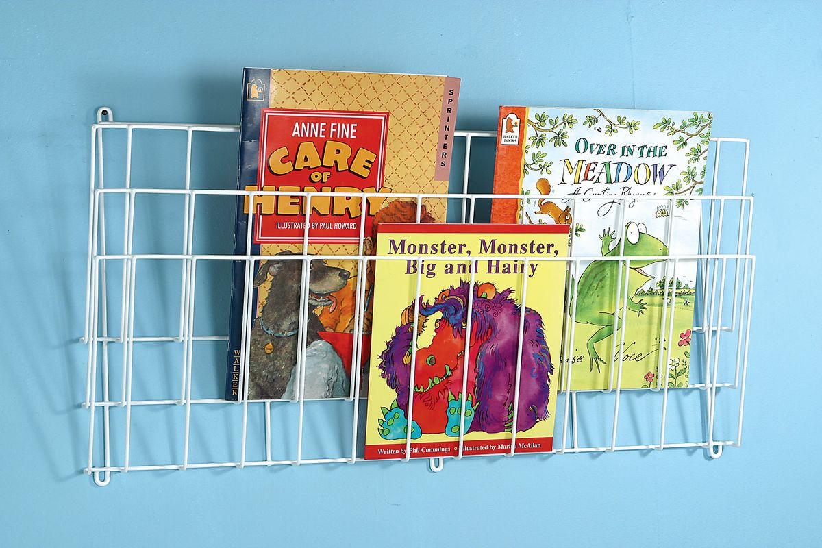 Big Book Wall Rack