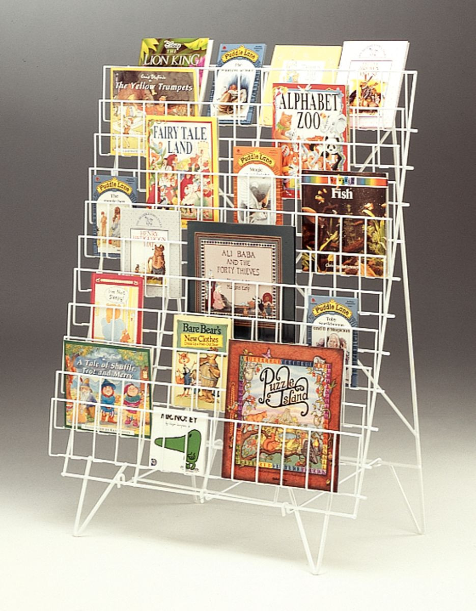 Portable Single Sided Book Rack Gresswell Specialist