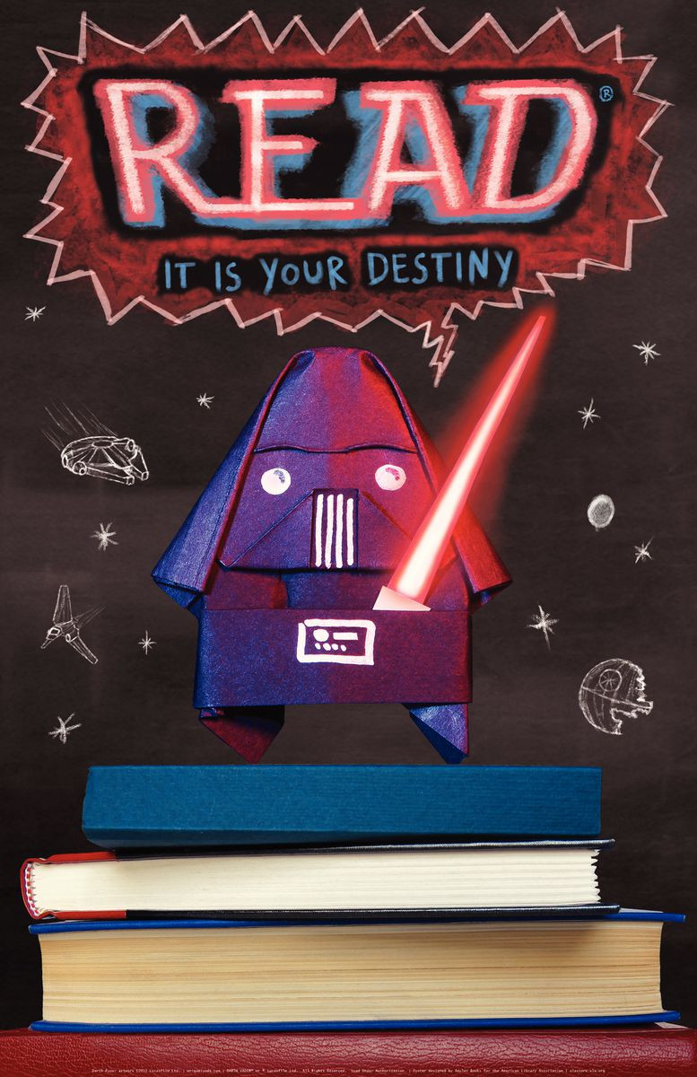 Star Wars Posters And Bookmarks