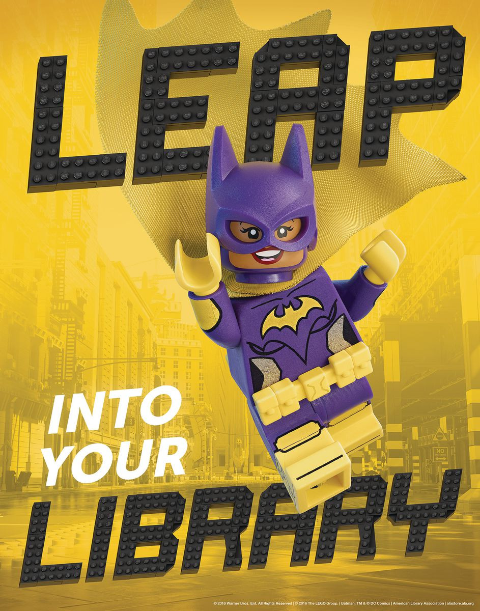 LEGO® Batman and Batgirl Posters and Bookmarks - Gresswell