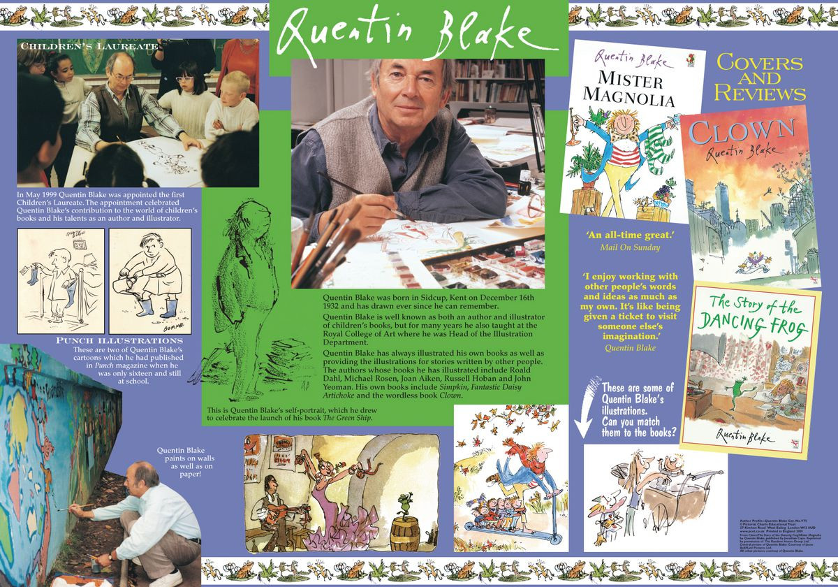 Author Profile Posters Gresswell Specialist Resources