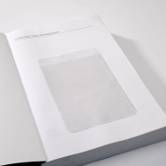 Large Self-adhesive Book Pocket