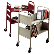 Demco® Iron Horse™ Book Trolleys