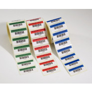 Demco® Custom Colour Barcode Labels