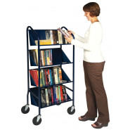 Demco® Iron Horse™ Sloping Shelf Trolley