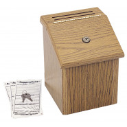 Wooden Suggestions Box