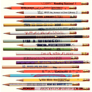 Reading Promotion Pencils