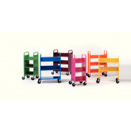 DEMCO® LibraryQuiet® Book Trolleys
