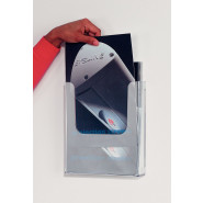 Velcro® Mounted Leaflet Displayers
