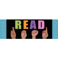 Sign Language READ Bookmarks