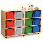 Extra Deep Tray Storage Units