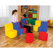 Classic and Rainbow Modular Seating