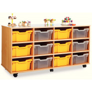 12 Deep Tray Storage Unit