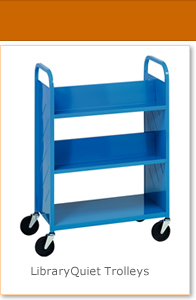 Library Quiet Trolleys - Bestsellers