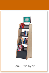 Find out more about our best selling book displayer unit