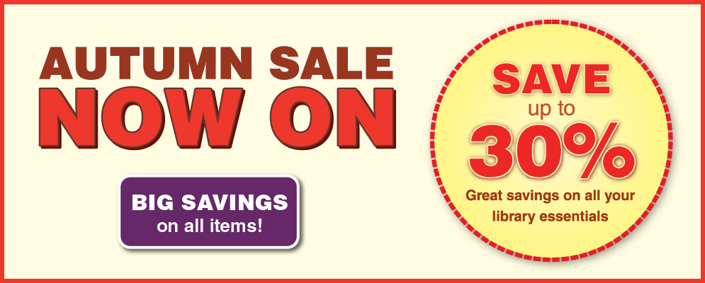 AUTUMN SALE NOW ON! Save up to 30%
