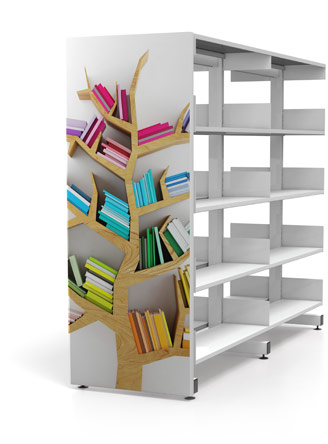 Cantilibra Library Shelving System - Gresswell