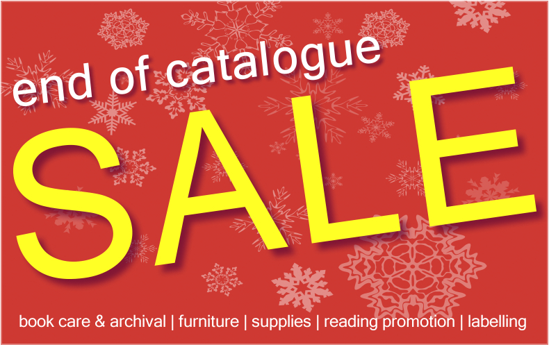 End of Catalogue SALE -  until December 31 or while stocks last!
