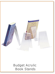 Budget Acrylic Book Stands