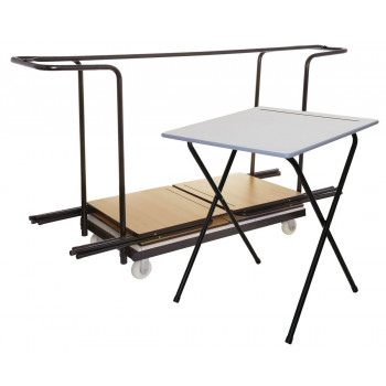 40 Exam Desk Bundle shown in Grey