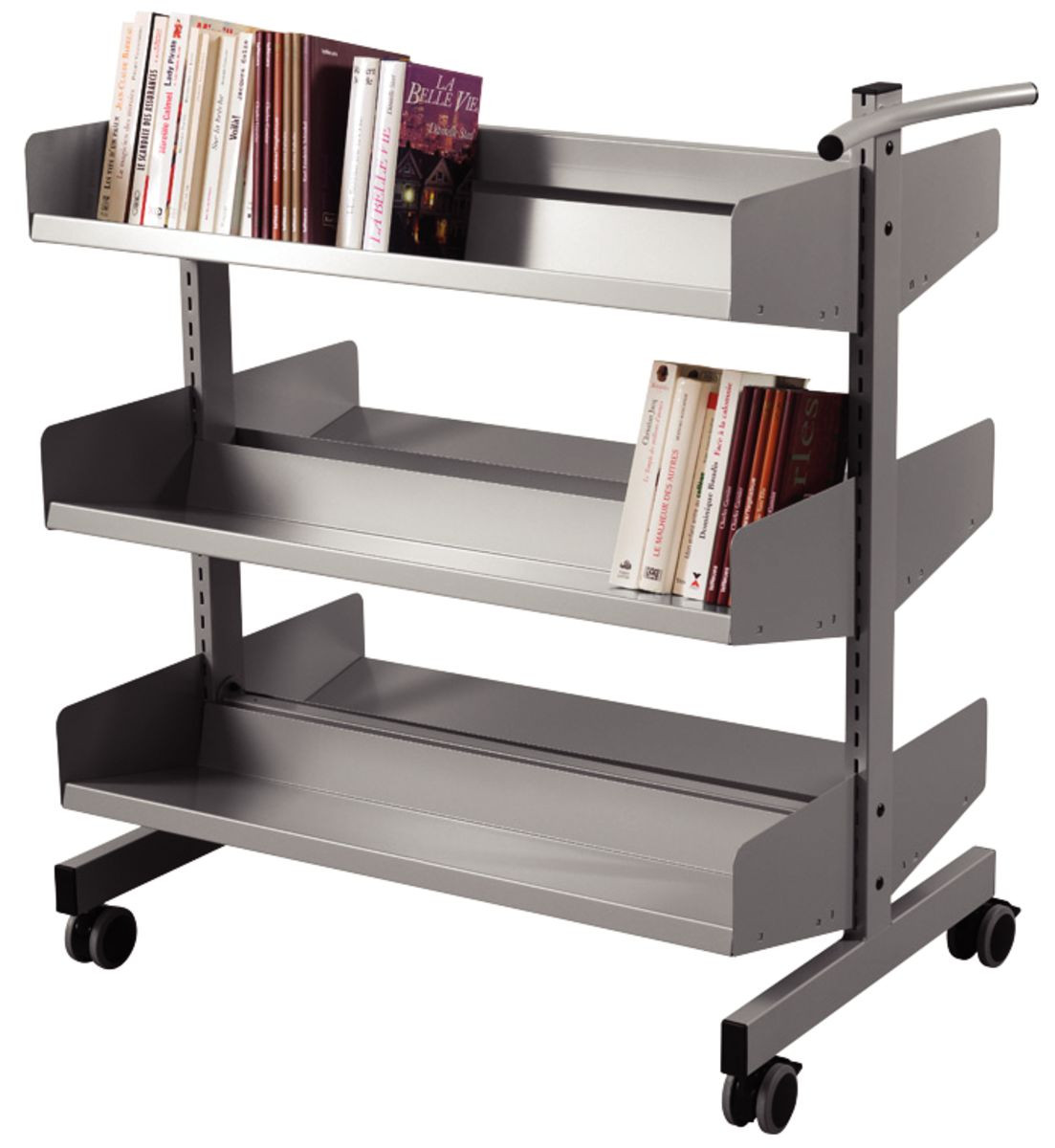 Paguis Metal Book Trolley Gresswell Specialist Resources