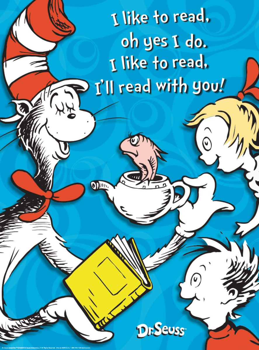 Dr Seuss Reading Promotion Gresswell Specialist