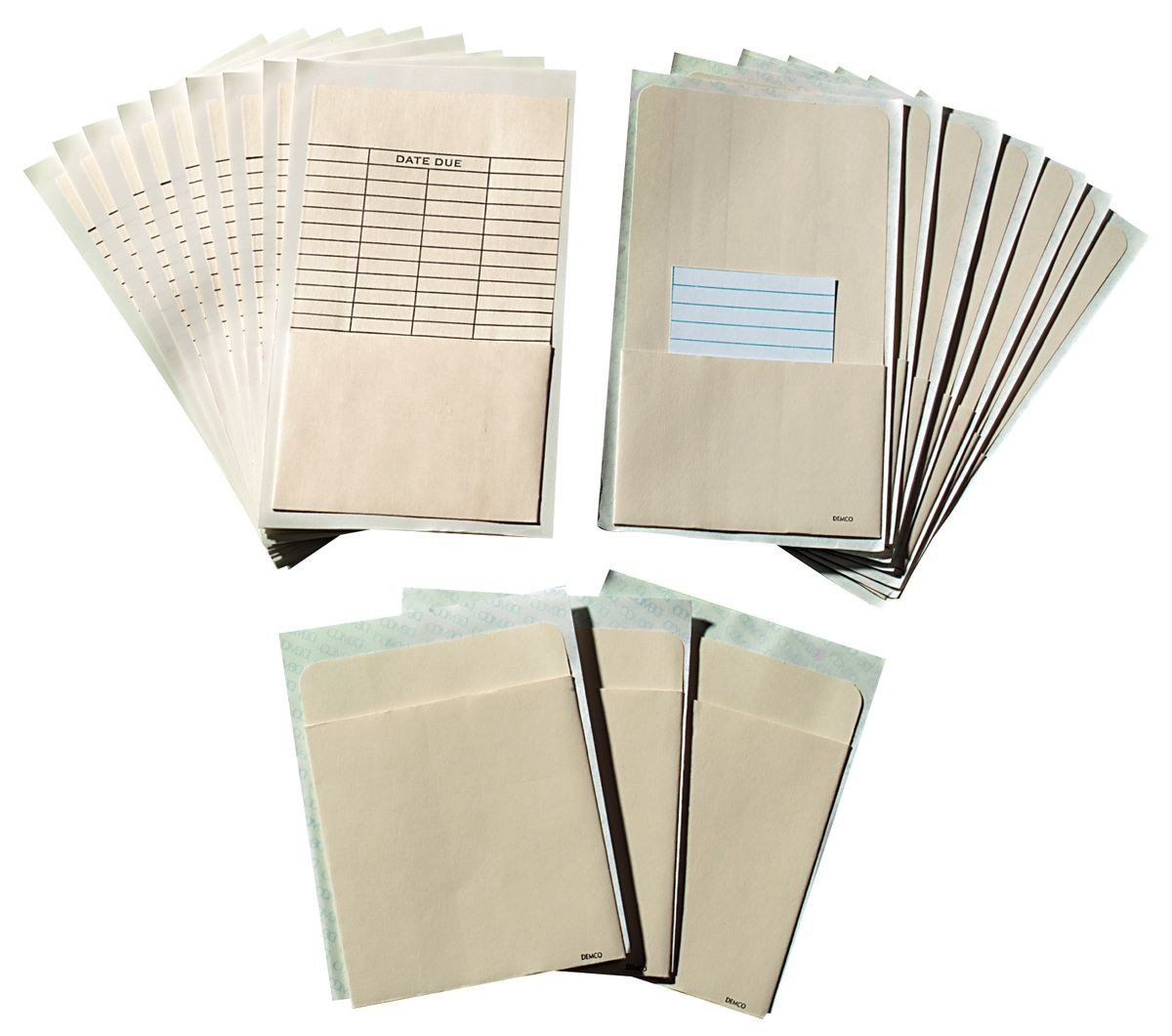 Demco 174 Self Adhesive Book Pockets Gresswell Specialist