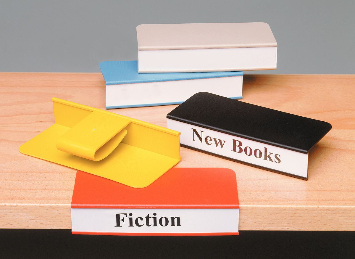 Clip On Plastic Shelf Label Holders Gresswell Specialist Resources For Libraries