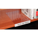 Demco® Movable Shelf Label Holders