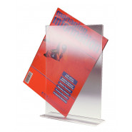 Perspex Free-standing Sign Holders