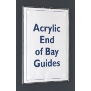 Demco® Acrylic End of Bay Guides
