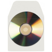 CD/DVD Pocket with Flap Self-adhesive