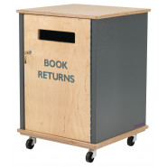 Demco® Junior Side-fed Book Return