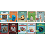 Dewey Vintage Mini Poster Set