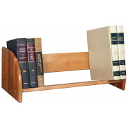 Wooden Tabletop Book Rack