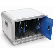Deskcabby Tablet Storage/Charger Cabinet