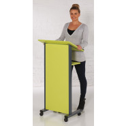 Panel Front Lectern