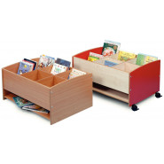 Low Level Kinderbox with Shelf