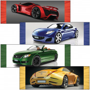 Cars and Motorcycles Bookmarks