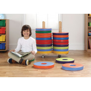 Donut Reading Cushion and Trolley Sets