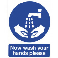 Wash Your Hands Safety Sign